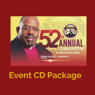 CD 52nd Annual  Convention GMWA package