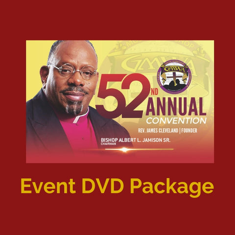 DVD 52nd Annual  Convention GMWA package