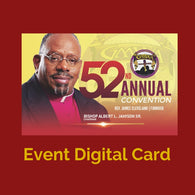 DIGITAL CARD 52nd Annual  Convention GMWA