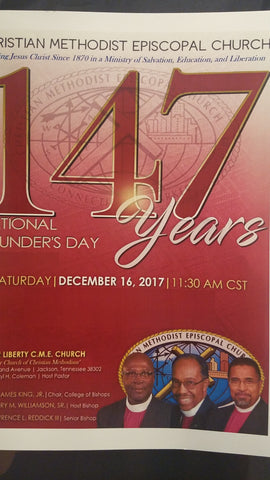 147th Founder's Day Digital Card Audio Only