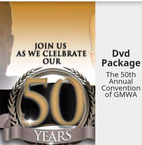2017 GMWA 50th DVD Package
