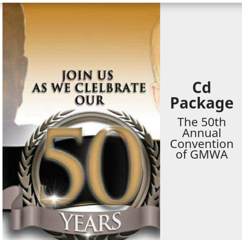 2017 GMWA 50th CD Package