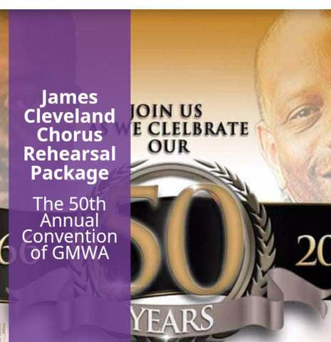 James Cleveland Chorus Rehearsal 6 CDs Package