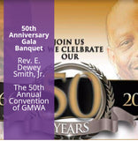 Monday 50th Anniversary Gala Banquet Rev. E Dewey Smith - DVD