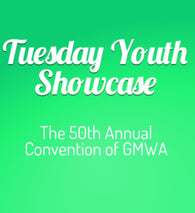 GMWA Tuesday Youth Showcase - CD (No John P Kee)