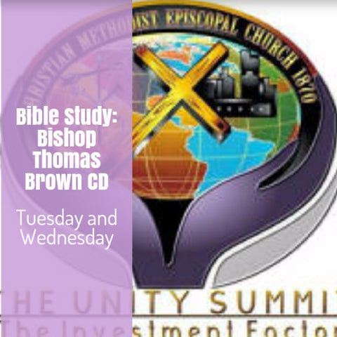 Bible Study Bishop Thomas Brown 2 CDs