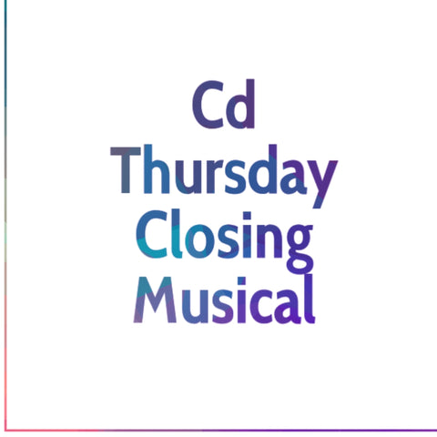 CDs Thursday Nightly Musical GMWA Board Meeting 2018