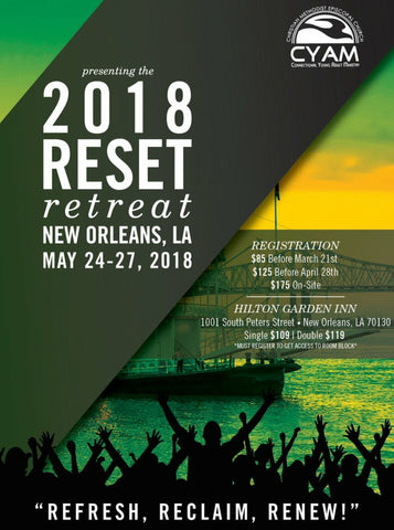 DVD CYAM Reset Conference Package