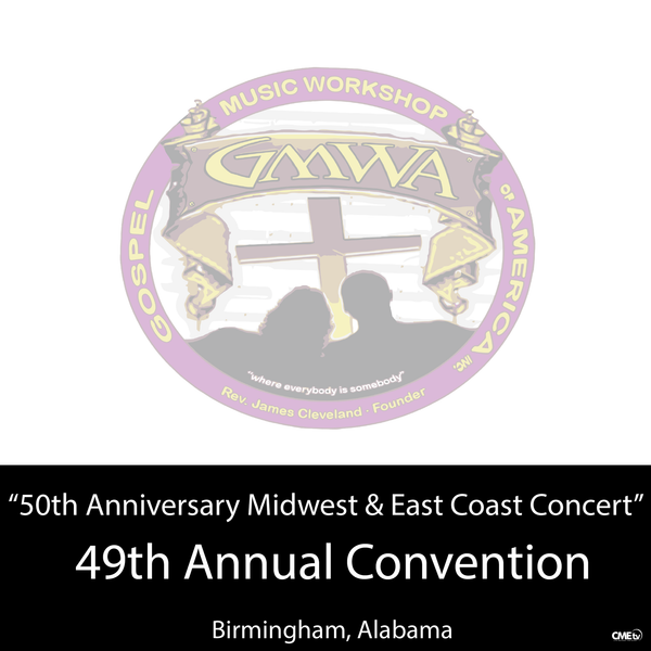 "GMWA 2016 CD ""50th Anniversary Midwest & East Coast Concert"""