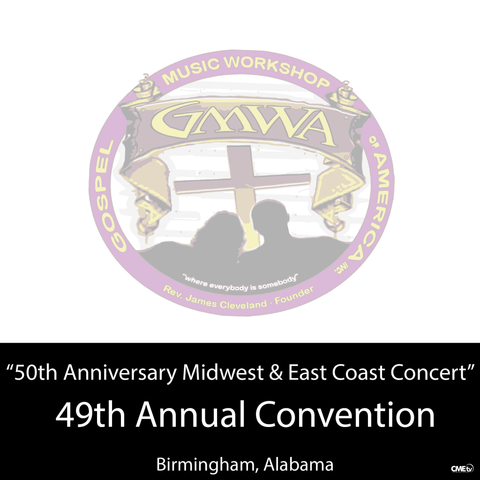 "GMWA 2016 DVD ""50th Anniversary Midwest & East Coast Concert"""