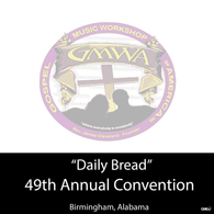 "GMWA 2016 4 CD ""Daily Bread"""