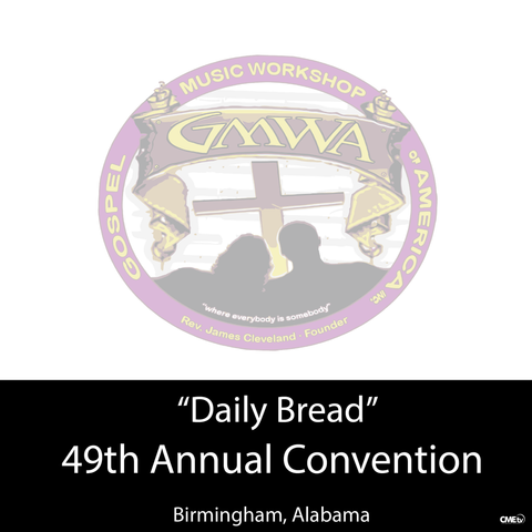 "GMWA 2016 4 DVD ""Daily Bread"""