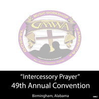 "GMWA 2016 CD ""Intercessory Prayer"""