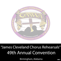 "GMWA 2016 CD ""James Cleveland Chorus Rehearsal Package"""