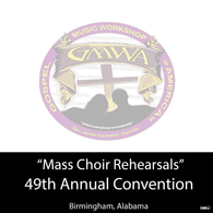 "GMWA 2016 CD ""Mass Choir Rehearsal Package"""