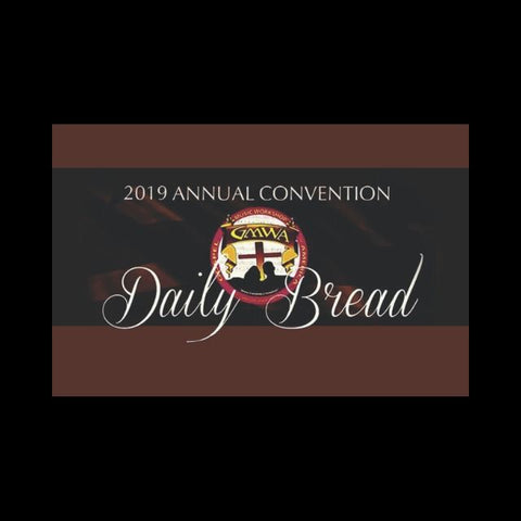 Digital Card Daily Bread GMWA 52nd Annual Convention