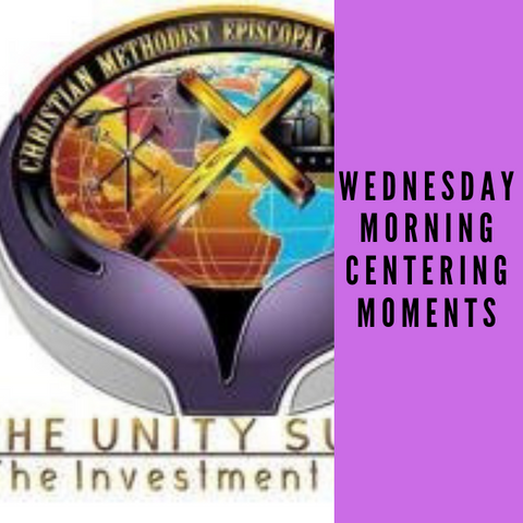 DVD Wednesday Morning Centering Moments
