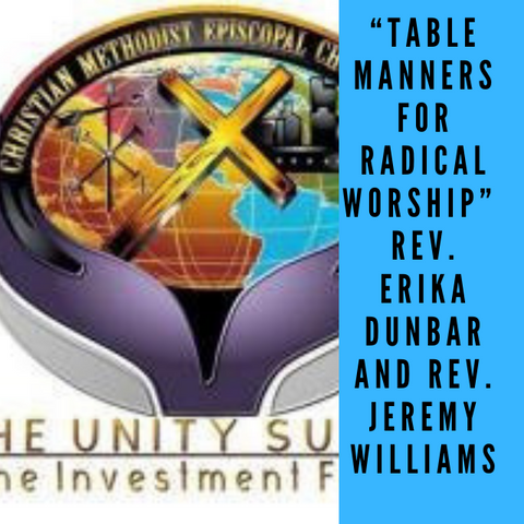 CD Table Manners for Radical Worship Dunbar/Williams