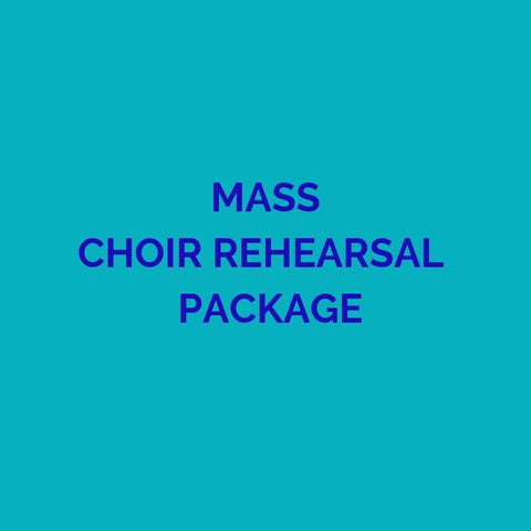 CD PACKAGE MASS CHOIR