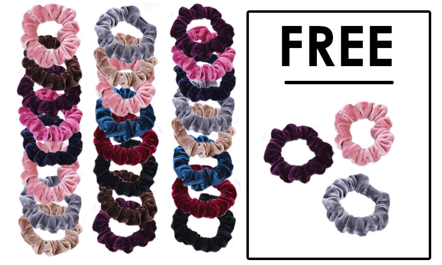 Velvet Scrunchie Collection