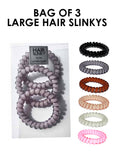 BUY BAGS OF 3 LARGE HAIR SLINKYS HERE! 7 COMBOS AVAILABLE