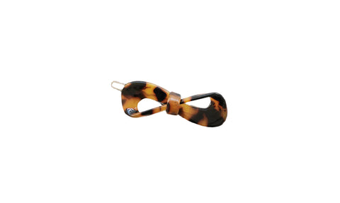 Amber Leopard Hair Pin