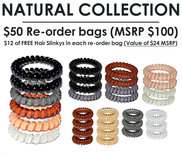 NATURAL COLLECTION RE-ORDER BAG