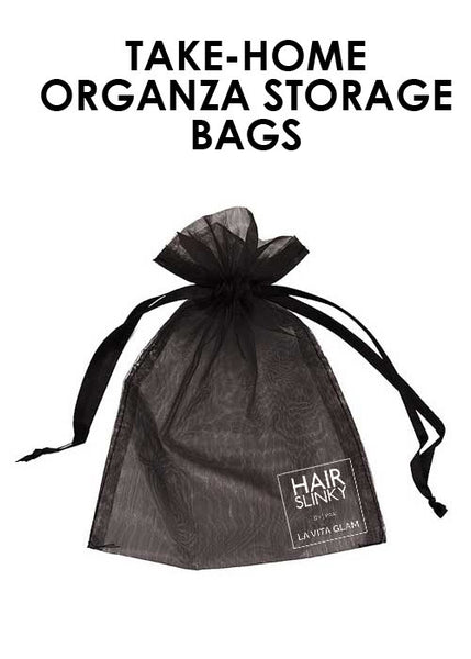 TAKE-HOME ORGANZA STORAGE BAGS (No Cost)