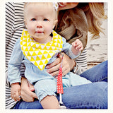 Pacifier Clip Girl, Boy (3 Pack) - Ziggy Baby 2-Sided Design, Unisex