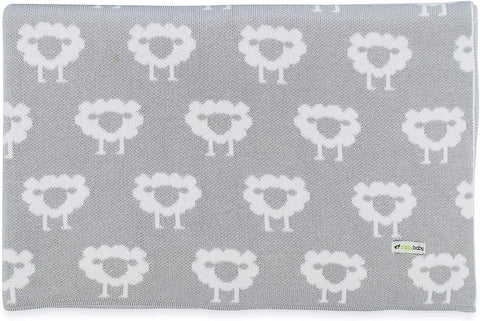 Ziggy Baby Organic Sheep Knitted Blanket
