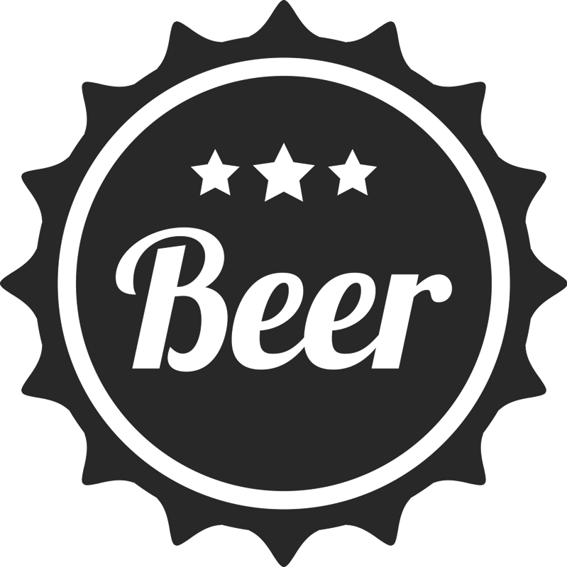 Beer Seal Rubber Stamp - Stamptopia