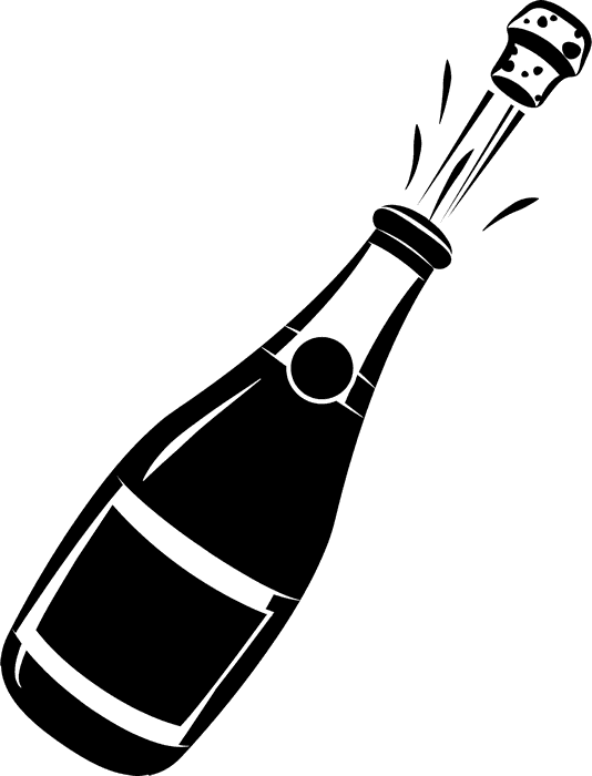 champagne bottle rubber stamp wedding stamps stamptopia rh stamptopia com champagne bottle clipart champagne bottle clipart