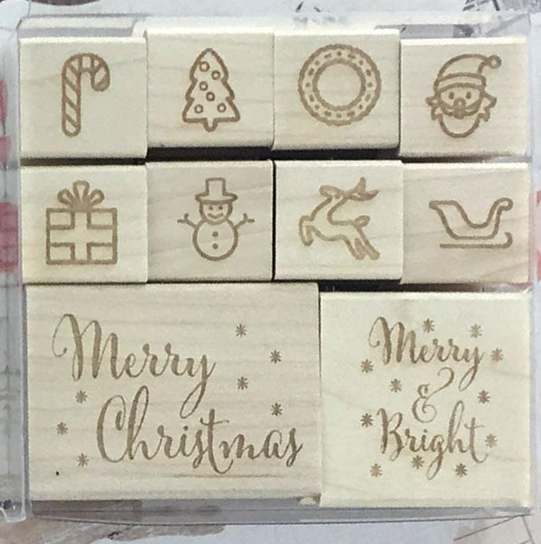Classic Christmas Stamp Set - Stamptopia
