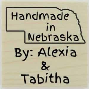 "Custom Nebraska Stamp Design 1 - 1.5"" X 1.5"" - Stamptopia"