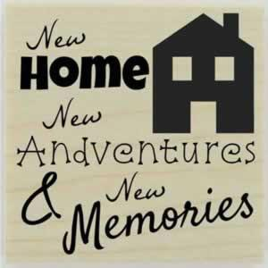 "Custom New Home Quote Stamp - 1.5"" X 1.5"" - Stamptopia"