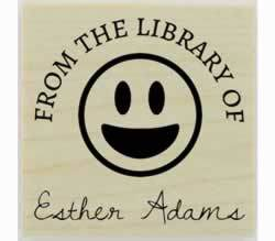 "Emoji From The Library Of Rubber Stamp - 1.5"" X 1.5"" - Stamptopia"