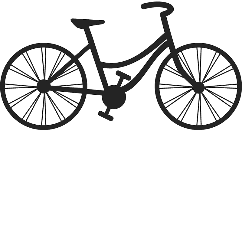Flat-Top Bicycle Stamp - Stamptopia