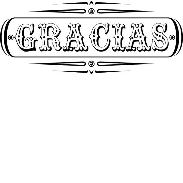 Gracias - Thank You Stamp - Stamptopia