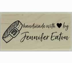 "Handmade Dog Collar Custom Stamp - 1.5"" X 0.75"" - Stamptopia"