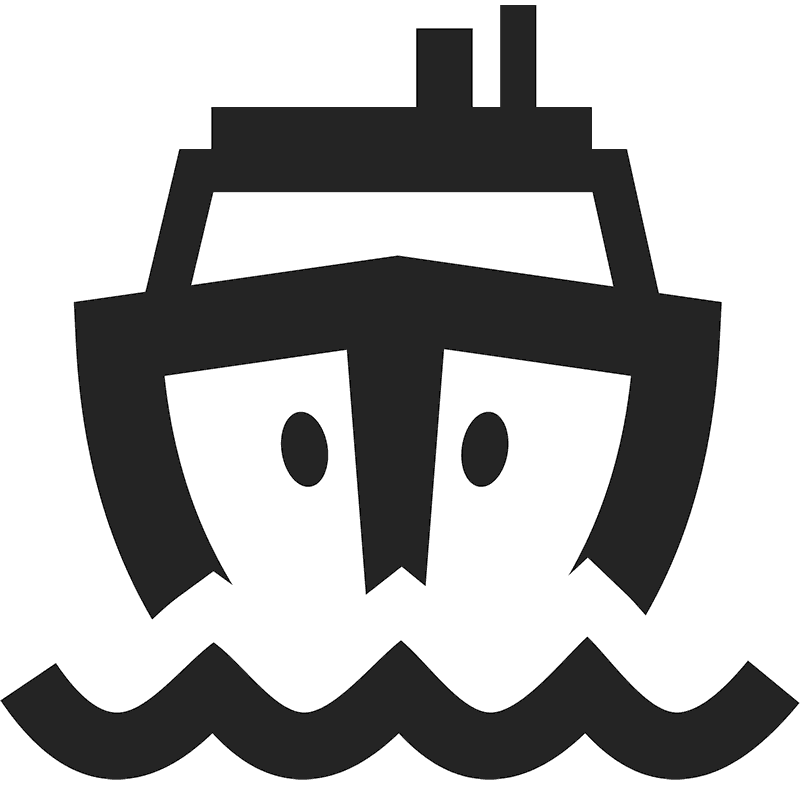 Inbound Ship Rubber Stamp - Stamptopia