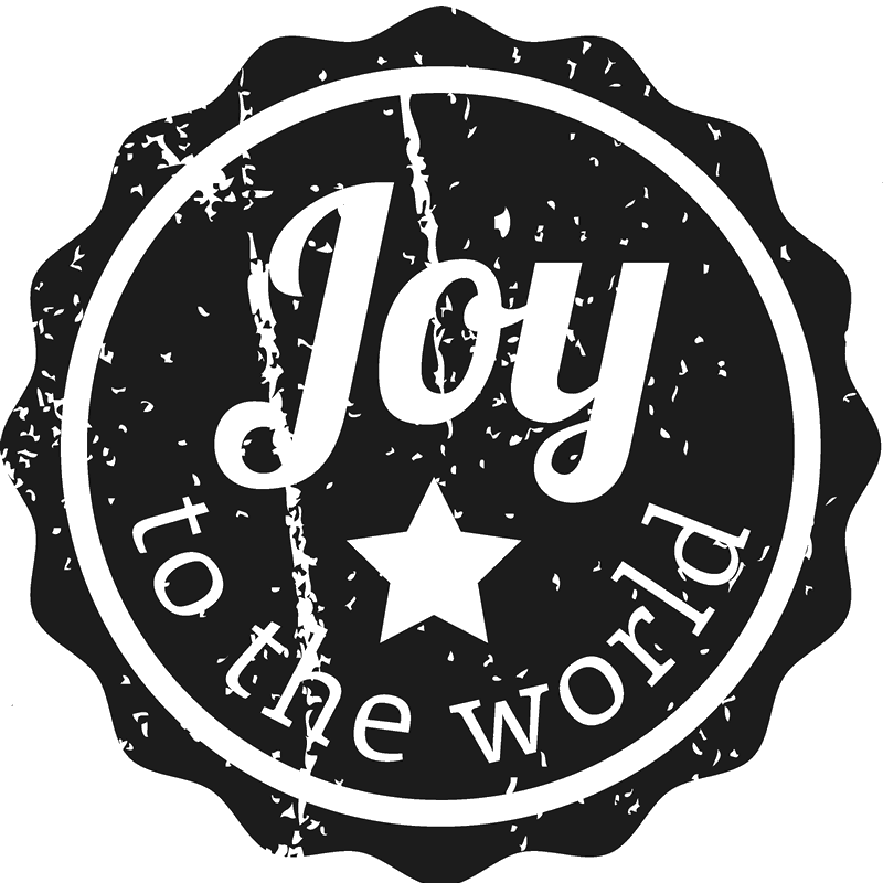 Joy To The World Christmas Stamp - Stamptopia