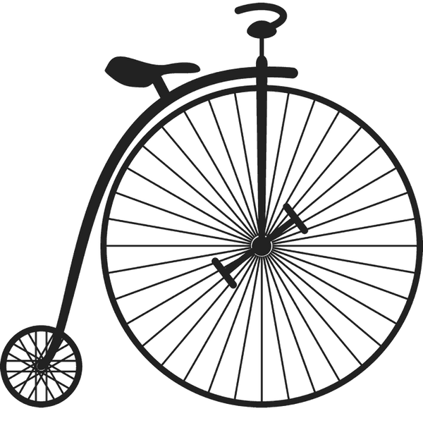 Penny Farthing Bicycle Stamp - Stamptopia