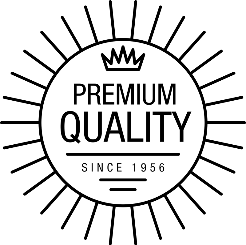 Premium Quality Circular Stamp With Crown - Stamptopia
