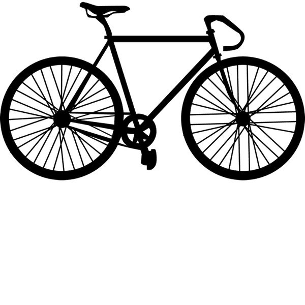 Racing Bike Rubber Stamp - Stamptopia
