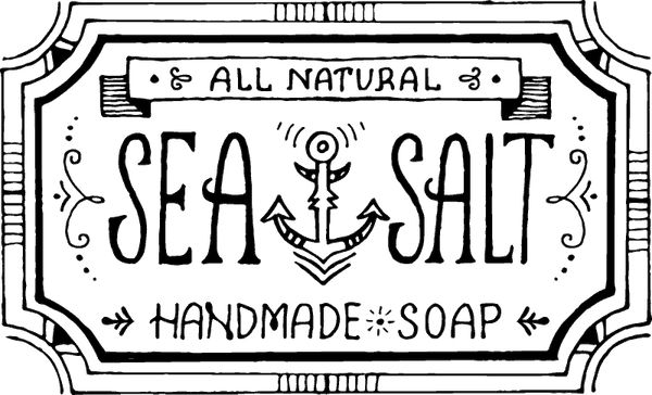 Sea Salt Handmade Soap Stamp - Stamptopia