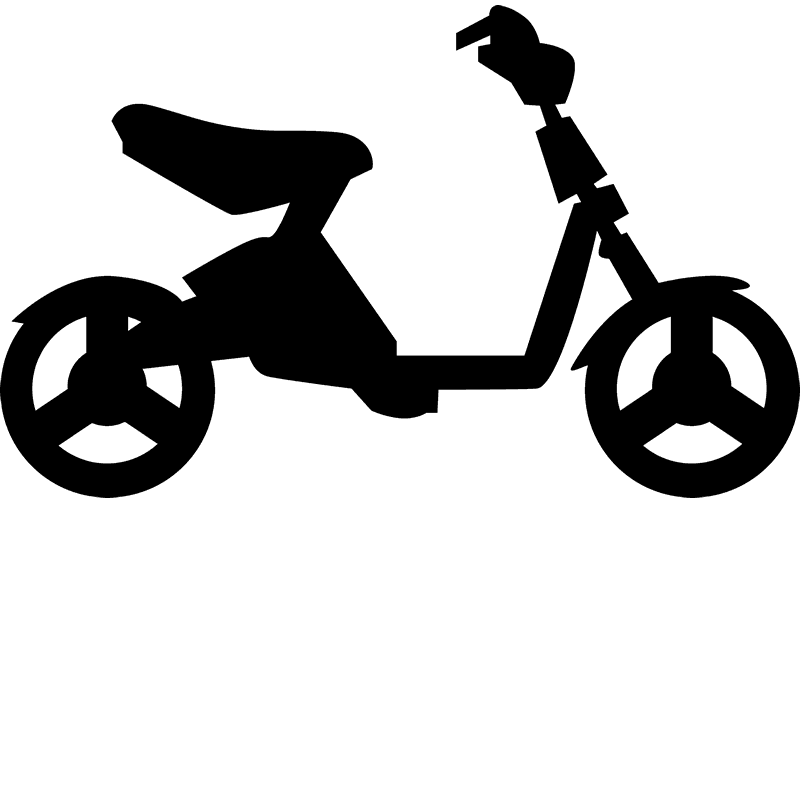 Small Bicycle Rubber Stamp - Stamptopia