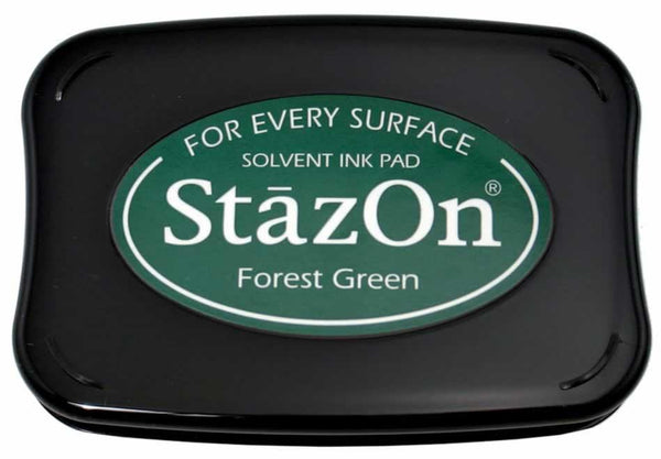 Stazon Permanent - Forest Green - Stamptopia