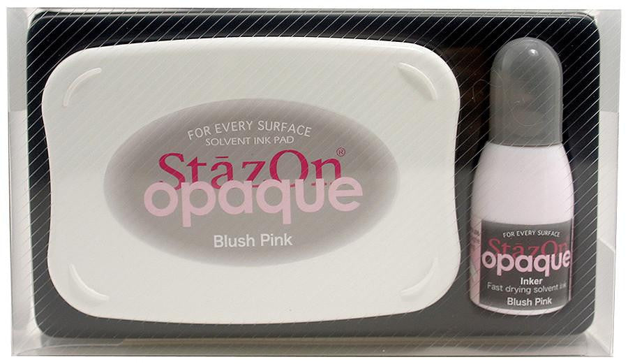 Stazon Permanent - Opaque Blush Pink - Stamptopia
