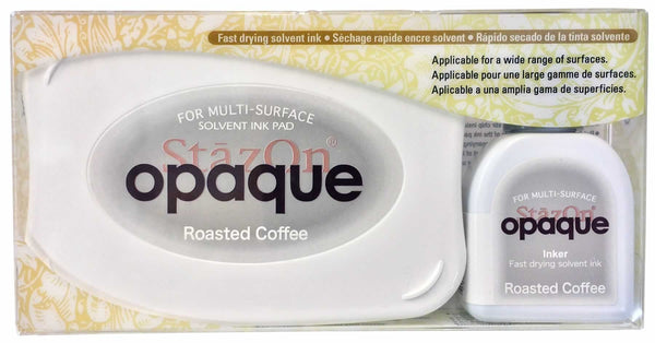 Stazon Permanent - Opaque Roasted Coffee - Stamptopia