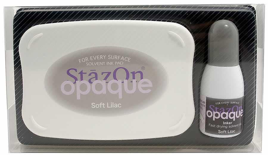 Stazon Permanent - Opaque Soft Lilac - Stamptopia
